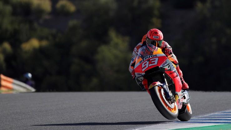 MotoGP: Marc Marquez znów miał wypadek w Jerez