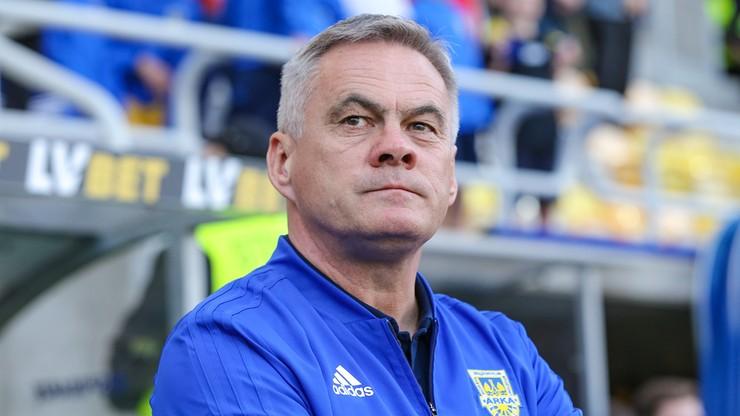 Zieliński pozostanie trenerem Arki