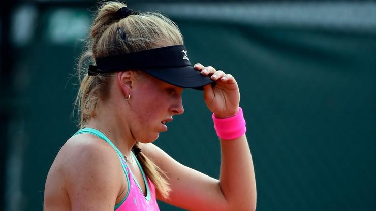 WTA w Hiroszimie: Fręch odpadła w 1. rundzie