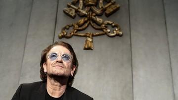 Bono rozmawiał z papieżem o skandalu pedofilii w Kościele