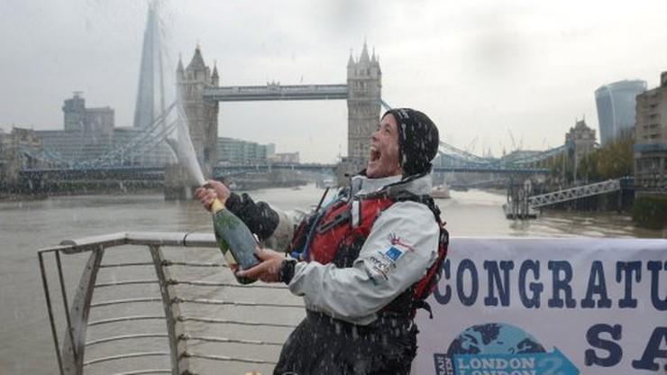 Brytyjka pokonała łodzią wioślarską i rowerem ponad 40 tys. kilometrów!