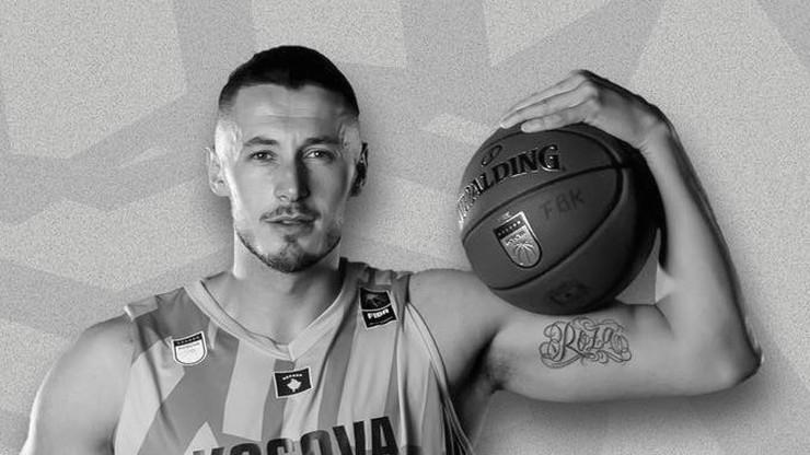 Tragiczna śmierć koszykarza reprezentacji Kosowa. Wczoraj skończył 27 lat