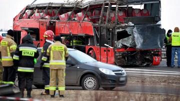 Po wypadku autobusu na A4 na Ukrainę wróciło 24 podróżnych