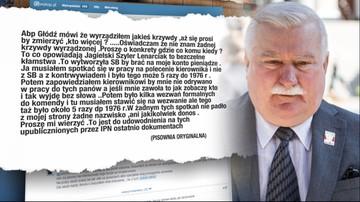 Wałęsa odpowiada arcybiskupowi: nikomu nie wyrządziłem krzywdy