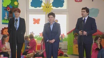 Premier i minister rodziny o programie Maluch plus. Powstanie 12 tysięcy nowych żłobków.