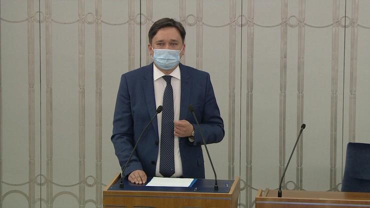 Wybór RPO w Senacie. Marcin Wiącek odpowiadał na pytania senatorów