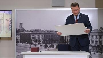 Błaszczak: przebudowa Pałacu Saskiego powstanie na podstawie projektu z 1923 roku