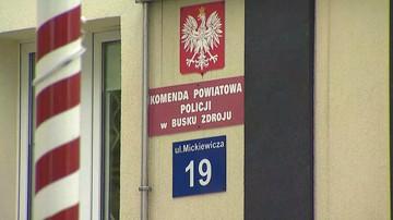 Buski radny, który zaatakował policjanta, wcześniej zgłosił w komisariacie pobicie na imprezie