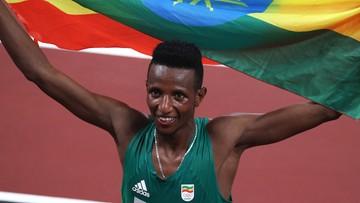 Tokio 2020: Etiopczyk Selemon Barega mistrzem olimpijskim w biegu na 10 000 m