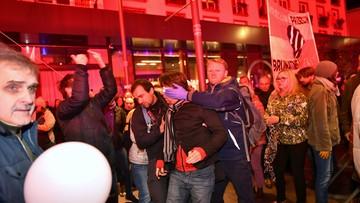 Marsz narodowców we Wrocławiu rozwiązany. Trzy osoby ranne