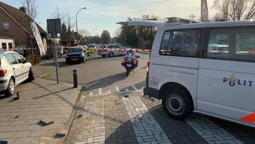 Pościg za Polakiem, który próbował rozjechać policjanta w Holandii. Padły strzały