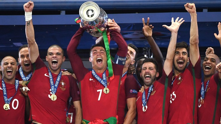 Portugalia mistrzem Europy mimo kontuzji Cristiano Ronaldo!