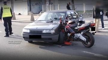 Motocyklista czeka na odszkodowanie, a sąd na świadka, który wypadku nie widział