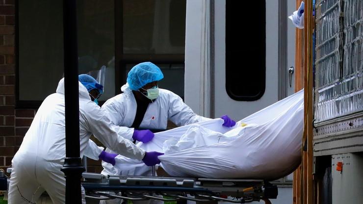 W Nowym Jorku więcej osób zmarło na koronawirusa niż w ataku na WTC
