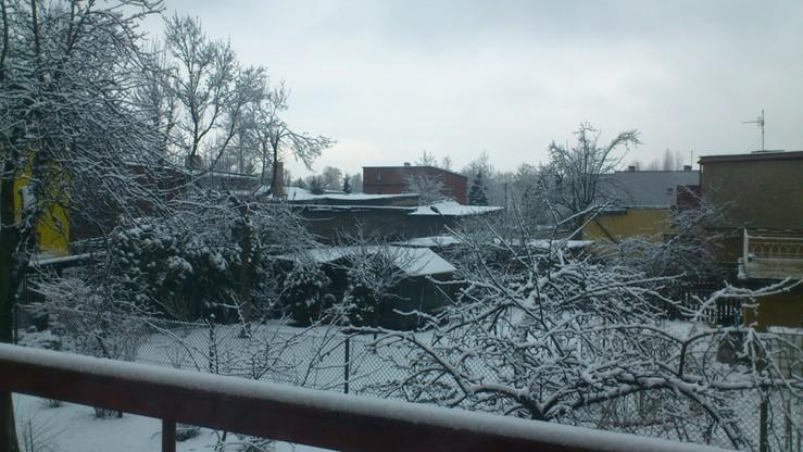 Zima wróciła. Tak wyglądają okolice Katowic