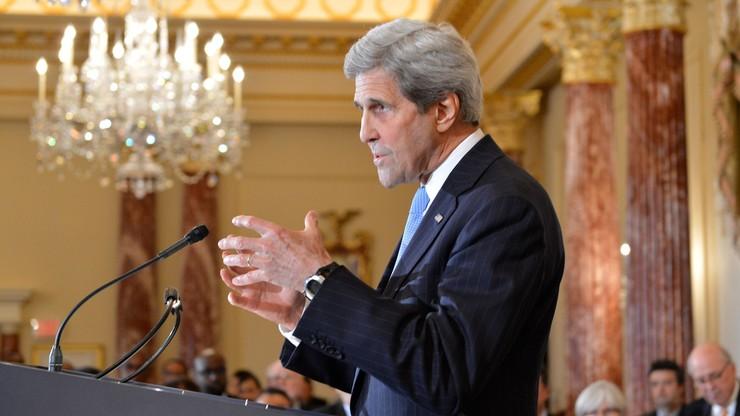 Kerry głęboko zaniepokojony gazociągiem Nord Stream 2