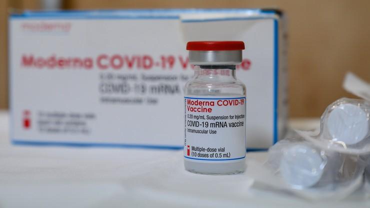 Szczepionki Moderny. Kolejna dostawa będzie opóźniona i mniejsza niż planowano