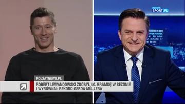 Robert Lewandowski gościem Wydarzeń. Cała rozmowa Bogdana Rymanowskiego z kapitanem reprezentacji Polski