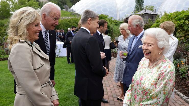 Wielka Brytania: Joe Biden złamał protokół. Ujawnił o czym rozmawiał z królową