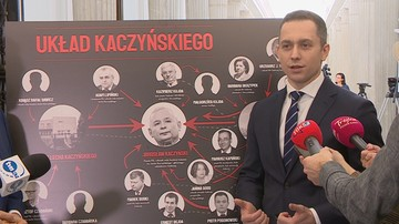"""""""Srebrny układ Kaczyńskiego"""". PO pokazuje """"sieć powiązań"""" ws. spółki Srebrna"""