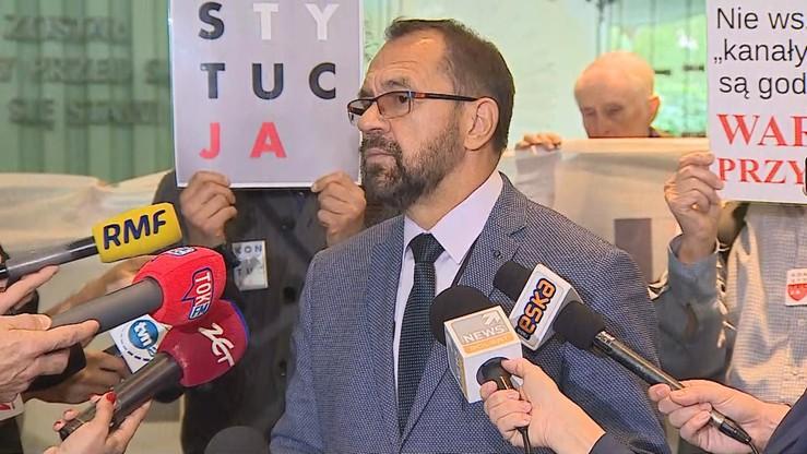 """""""Wyłanianie kandydatów na prezesów SN jest bezpodstawne, stanowiska te pozostają obsadzone"""""""