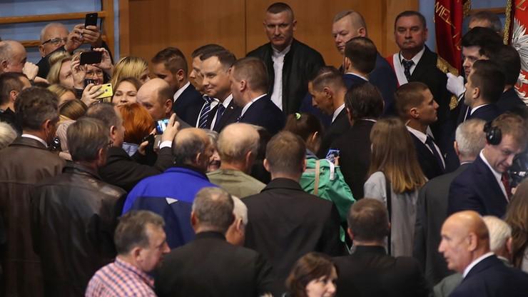 Prezydent spotyka się z mieszkańcami Kazimierzy Wielkiej