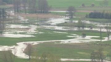 Groźna woda. Zobacz wideo z Newscoptera Polsat News