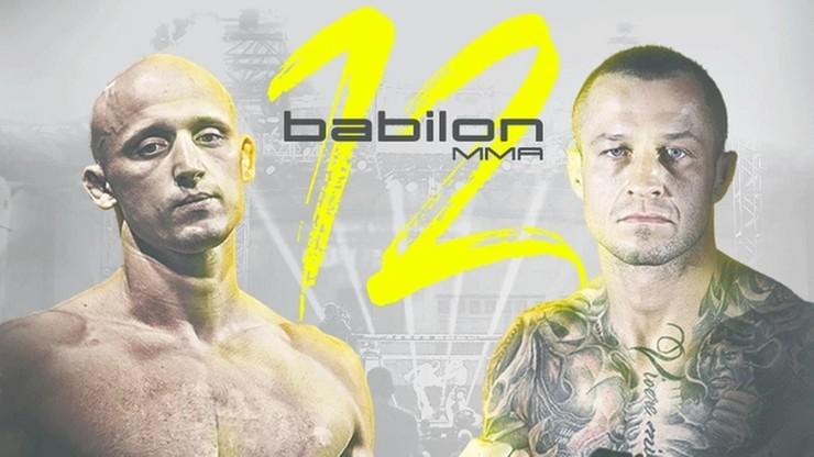Babilon MMA 12: Pawlak vs Błeszyński. Karta walk