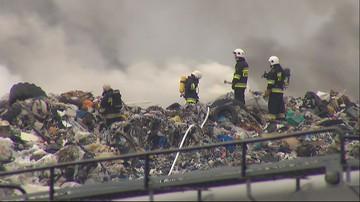 Kolejny pożar wysypiska w Pyszącej. Sprawę bada policja i prokuratura