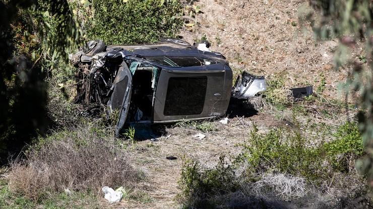 Tiger Woods miał wypadek. Kompletnie zniszczony samochód legendarnego golfisty (ZDJĘCIA)