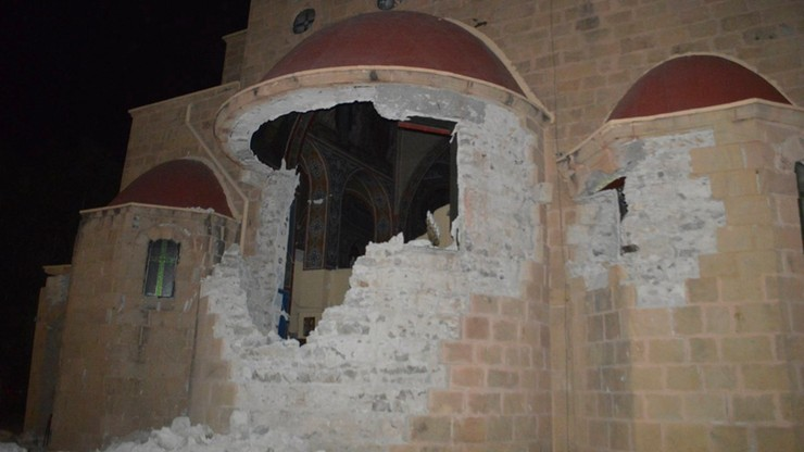 Dwie ofiary śmiertelne trzęsienia ziemi w Grecji to turyści z Turcji i Szwecji