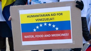USA grożą kolejnymi sankcjami, jeśli reżim w Wenezueli zablokuje pomoc humanitarną