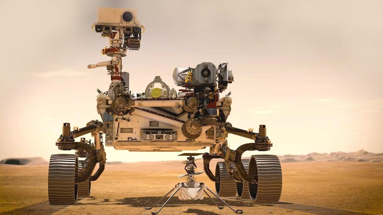 Łazik Perseverance wytworzył tlen na Marsie. Zmienimy Marsa w drugą Ziemię