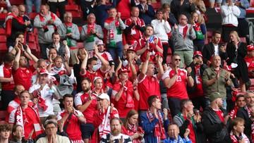 Euro 2020: Duńscy kibice będą krzyczeć tak głośno, by Eriksen usłyszał ich w szpitalu
