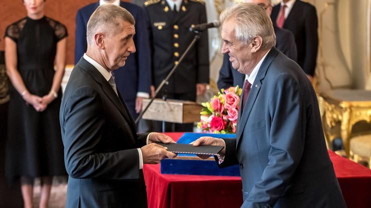 Prezydent Czech mianował Andreja Babisza premierem po raz drugi
