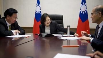 Chińskie MSZ protestuje w sprawie telefonu Trumpa na Tajwan