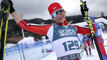 Narciarskie MŚJ: Polka mistrzynią świata w biegu na 10 km (WIDEO)