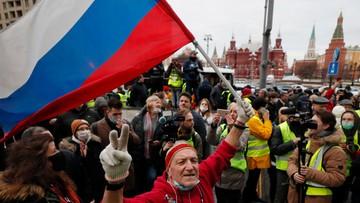 Setki zatrzymanych na demonstracjach w obronie Nawalnego