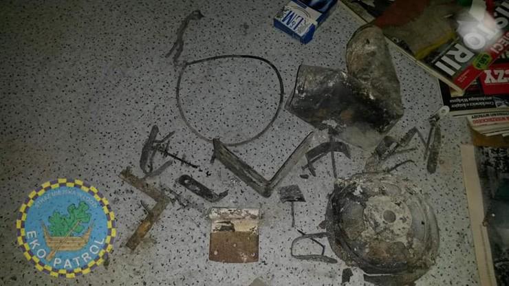 Łódź: straż miejska pokazała, czym mieszkańcy palą w piecach [ZDJĘCIA]