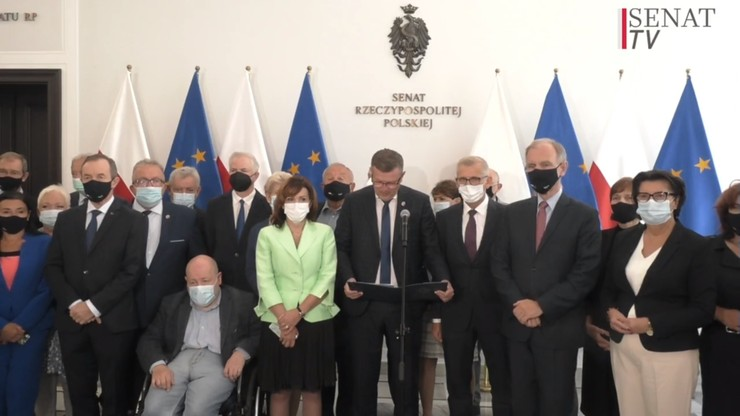 Członkostwo Polski w UE. Oświadczenie senatorów