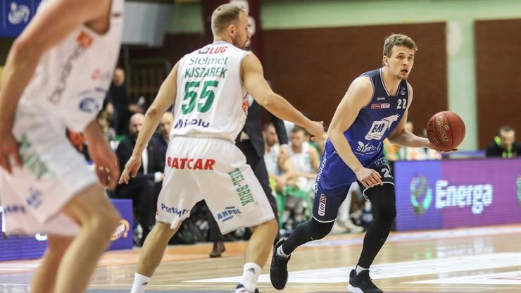 EBL: Stelmet Enea BC Zielona Góra - BM Slam Stal Ostrów Wlkp. Transmisja w Polsacie Sport