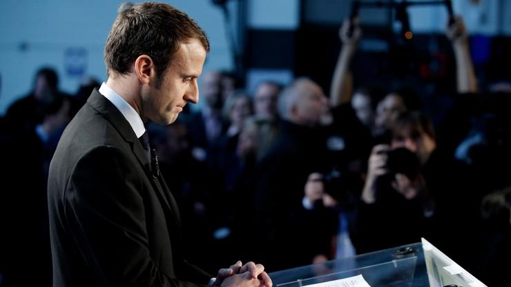 Macron wystartuje w wyborach prezydenckich we Francji