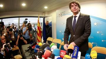 """""""Rząd nie ma wpływu na przyszłość Puigdemonta po wydaniu ENA"""". Belgijski minister ws. byłego premiera Katalonii"""