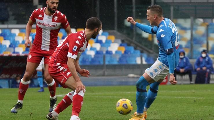 Serie A: Piękny gol Piotra Zielińskiego. Napoli rozbiło Fiorentinę (WIDEO)