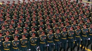 Defilada wojskowa w Moskwie