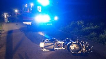 Czołowe zderzenie motocykli na Lubelszczyźnie. Na miejscu zginęli prowadzący je mężczyźni