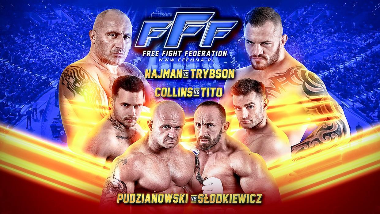 Wielka gala Free Fight Federation: Najman vs Trybson