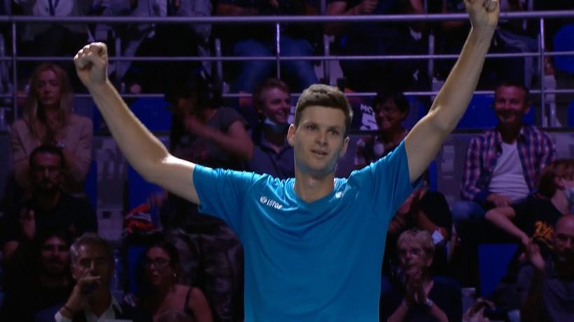 ATP w Metz: Hubert Hurkacz i Jan Zieliński triumfowali w deblu!