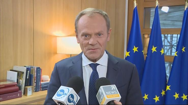 Tusk: żeby powstrzymać rząd PiS, trzeba mieć siłę prezydenckiego weta