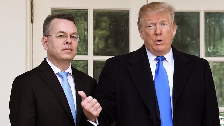 """Trump liczy na poprawę stosunków z Turcją. """"Uwolnienie pastora jest ogromnym krokiem"""""""